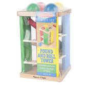 Melissa & Doug, Pound and Roll Tower, 6 Pieces, Ages 2 and Older