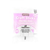 Surebonder, All Temperature Mini Glue Sticks, 4 inches, 50 Glue Sticks