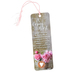 Dicksons, A Caring Heart Tassel Bookmark with Pocket Coin, 2 x 6 inches