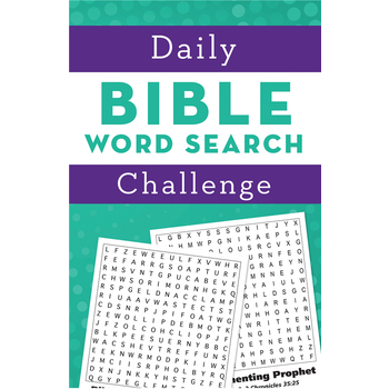 Daily Bible Word Search Challenge, by Barbour, Paperback