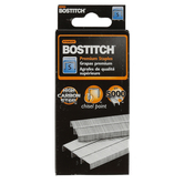 Stanley Bostich, Standard Staples, 1/4 Inch, Silver, 5000 Count