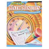 Creative Teaching Press, Math Minutes Workbook, Reproducible Paperback, 112 Pages, Grade 7