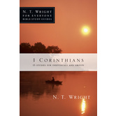 1 Corinthians, N. T. Wright For Everyone Bible Study Series, by N. T. Wright, Paperback
