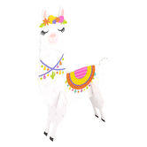 Llama Party Paper Llamas Table Decorations, Multi-Colored, 3 x 8.50 x 13 Inches, 2 Count