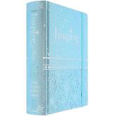 NLT Inspire Bible for Girls, Hardcover, Blue