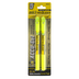 G.T. Luscombe, Accu-Gel Bible Hi-Glider Highlighters, Yellow, Set of 2