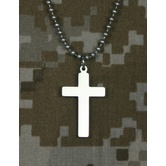 Military Pendant Necklace - Cross