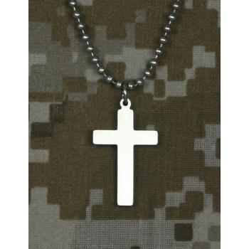 Military Pendant Necklace - Cross
