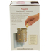 Bless This Home Pluggable Fragrance Warmer, Ceramic, Vanilla Cream, 3 4/5 x 3 4/5 inches