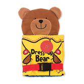 Melissa & Doug, Dress-Up Bear Soft Activity Book, Ages 6 Months to 4 Years