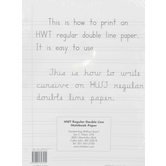 Regular Notebook Paper - 100 Sheets