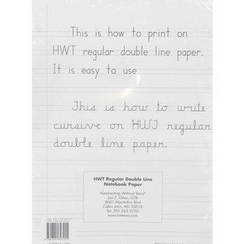 Regular Notebook Paper - 100 Sheets