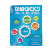 Creative Teaching Press, STEAM Design Challenges Resource Book Grade 3, Paperback, 152 Pages