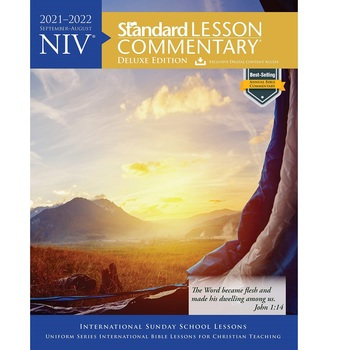 NIV Standard Lesson Commentary 2021-2022: Deluxe Edition, by David C Cook, Paperback