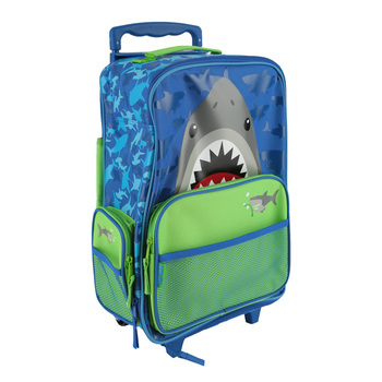 Stephen Joseph, Shark Classic Rolling Luggage, 14 1/2 x 18 inches