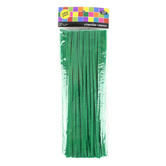 Tree House Studio, Chenille Stems,12 x 1/4 Inches, Green,100 Count