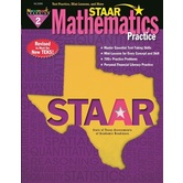 Newmark Learning, STAAR Mathematics Practice: Grade 2, 8.5 x 11 Inches, Paperback, 144 Pages