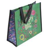 Natural Life, Floral & Mushroom Happy Bag, Medium, 8 x 4 x 9 1/2 inches