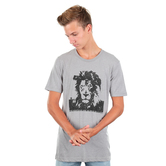 NOTW, Bold Lion, Men's Short Sleeve T-shirt, Athletic Grey, S-2XL