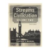 Christian Liberty Press, Streams of Civilization Vol 2 Teacher Manual, 3rd Ed, Paper, 45 Pages, Grade 10