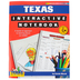 Gallopade, Texas Interactive Notebook: A Hands-On Approach, Paperback, 68 Pages, Grades 3-5