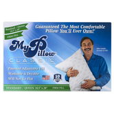 MyPillow, Classic Firm Pillow, Standard Queen, 18 1/2 x 28 Inches