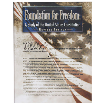 Christian Liberty Press, Foundation for Freedom Student Text, Paperback, 318 Pages, Grades 8-12