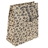 Brother Sister Design Studio, Leopard Print Gift Bag, Multiple Sizes Available