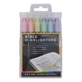 Salt & Light, Dry Gel Bible Highlighters, 1 Each of 6 Colors