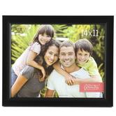 Scoop Plastic Photo Frame, 14 x 11 inches, Black