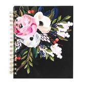 Orange Circle Studio, Bella Flora Tabbed Spiral Notebook, Medium, 9 x 7 Inches, 192 Pages