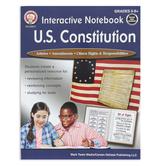 Carson-Dellosa, Interactive Notebook United States Constitution Resource Book, 64 Pages, Grades 5-8