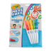 Crayola, Color Wonder Mess Free Paintbrush Pens with Drawing Pad, 6 Count, Ages 3 and up