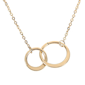 Studio His & Hers, Mother Of The Bride Loop Necklace, Gold-tone, 20 inch Chain