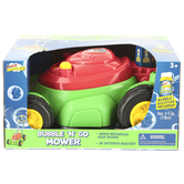 Sunny Days, Maxx Bubbles Bubble N Go Mower, Red & Green, 14 x 19 inches, Ages 3 & Older