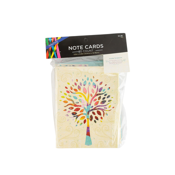 Brother Sister Design Studio, Jeremiah 29:11 Multi-Color Tree Cards, 20 Cards and 20 Envelopes