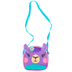 Stephen Joseph, Llama Crossbody Purse, Purple, 5 x 5 inches