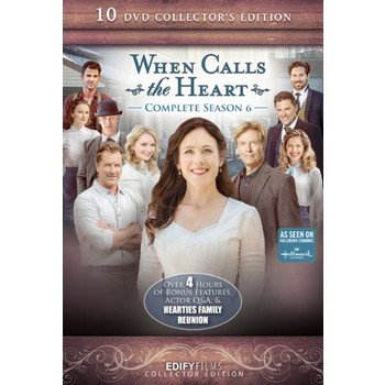 When Calls The Heart, Season 6, 10 DVD Set