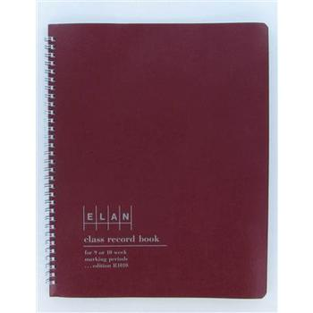 Class Record Book: 9-10 Weeks, 50 Students