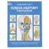 Dover Publications, Human Anatomy Coloring Book by Margaret Matt, Paperback, Grades 5-Adult