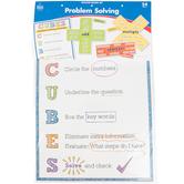 Carson-Dellosa, Problem Solving Bulletin Board Set, Multi-colored, 54 Pieces, Grades 1-5