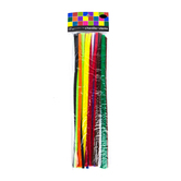 Tree House Studio, Chenille Stems, 12 x 1/4 Inches, Assorted, 50 Count