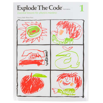 Educators Publishing Service, Explode the Code Book 1, 2nd Edition, Grades 1-3
