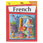 Carson-Dellosa, French Resource Book Grades K-5, Reproducible Paperback, 128 Pages, Grades K-5