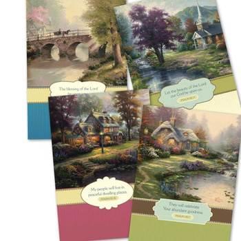 DaySpring, Thomas Kinkade Thinking of You Cards, 12 count