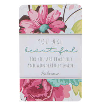 Dickson's Gifts, You Are Beautiful Pocket Card, Paper, Pink