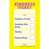 Top Notch Teacher Products, Kindness Tickets, 3 x 5 Inches, Multi-Colored, Pack of 32