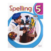 BJU Press, Spelling 5 Student Worktext, 2nd Ed, Copyright Update, Paperback, Grade 5