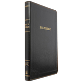 KJV Thinline Bible, Imitation Leather, Black