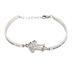 Spirit & Truth, Proverbs 31, Woman of God CZ Cross, Women's Bracelet, Stainless Steel, 7-8 Inches